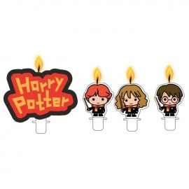 4 Velas Harry Potter