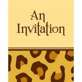 8 Convites Jirafa