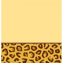 Toalha de Mesa de Plástico Leopardo 137 x 274 cm