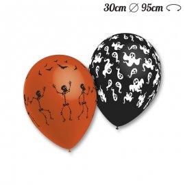 50 Balões de Esqueletos e Fantasmas