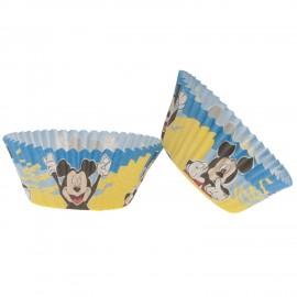 50 Cápsulas Mickey Mouse para Cupcakes