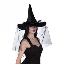 Chapéu de Bico com Véu