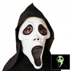 Máscara Fluorescente Fantasma