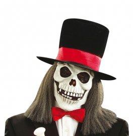 Máscara con Sombrero de Copa