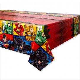Mantel La Liga de la Justicia 137 x 214 cm