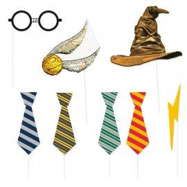 8 Acessórios Photo Booth de Harry Potter