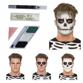 Kit de Pintura Esqueleto 3 Cores