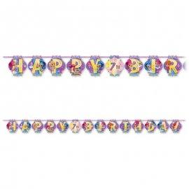 Guirnalda Shimmer & Shine Happy Birthday