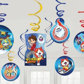 6 Colgantes Yo Kai Watch