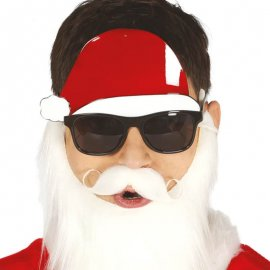 Gafas con Gorro de Papa Noel