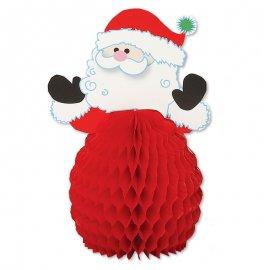 4 Papa Noel 15 cm