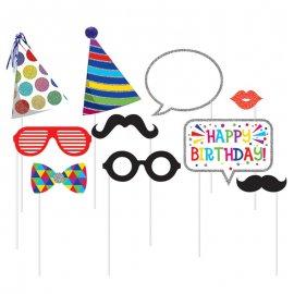 10 Acessórios de Aniversário para Photo Booth