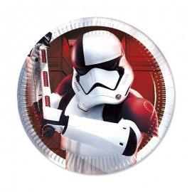 8 Platos Star Wars VIII 20 cm
