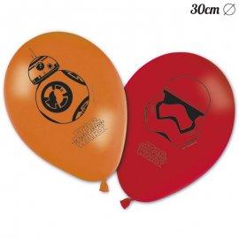 8 Balões Star Wars 30 cm