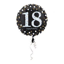 Balão 18 anos Elegant 43 cm