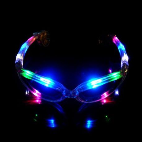 Gafas con luz led baratas