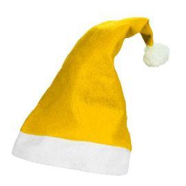 Gorro Papa Noel Amarillo