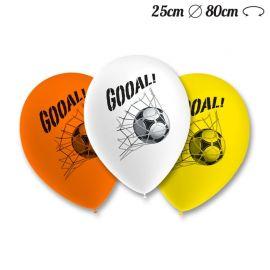 Balões Futebol Pack Redondos 25 cm