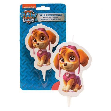 Vela Skye Patrulla Canina 7,5 cm