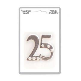 Vela 25 Aniversario de Plata