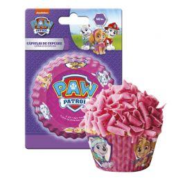 50 Cápsulas Skye Patrulla Canina para Cupcakes