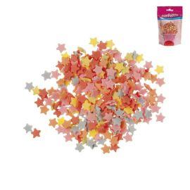 Confete forma Estrelas de Açúcar