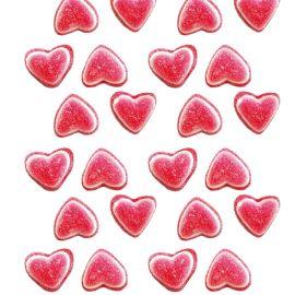 Corações Tricolor Doces 1 Kg