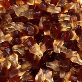 Mini Garrafas Cola de Goma Haribo 1 Kg
