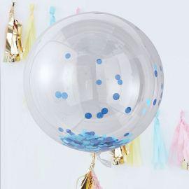 3 Balãos Gigantes com Confete 90 cm