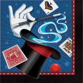 16 Servilletas Magic Party