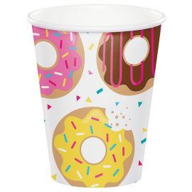8 Vasos Donut Time 266 ml