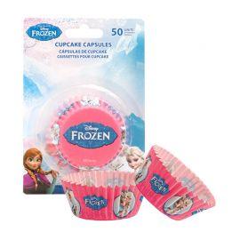 50 Cápsulas Frozen para Cupcakes