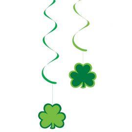 5 Colgantes Saint Patrick's Day Papel