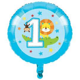 Balão Animalzinhos Menino 45 cm
