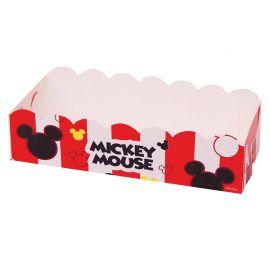 12 Bandejas Mickey Mouse Rectangular