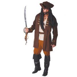 Fato Capitão Pirata para Homem com Cinturão