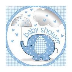 Chá de Bebé Elefante Menino