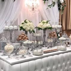Mesa Doce Casamentos de Prata