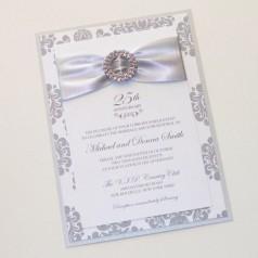 Cartões de Casamentos de Prata