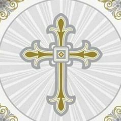 Comunhão Cruz Ouro e Prata
