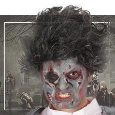 Perucas Zombies