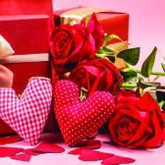 Vitrines de Dia dos Namorados
