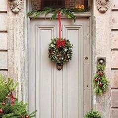 Decoração Puertas Navidad