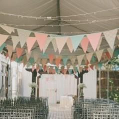 Bandeirolas para Casamentos
