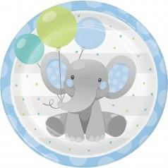 Aniversário Elefantezinho Azul