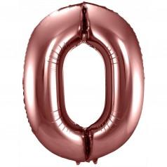 Balão Número Bronze