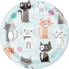 Aniversário Gatos