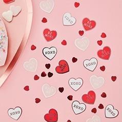 Confetes Corações