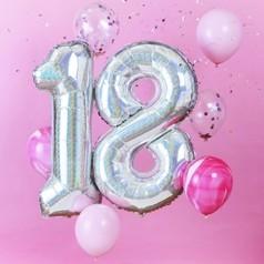 Balões Aniversário 18 Anos