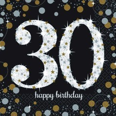 30 Cumpleaños Dorado